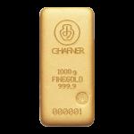 Lingote de oro C.HAFNER de 1 kilo