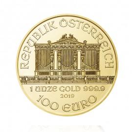 Moneda Filarmónica de Oro 2019 - Anverso