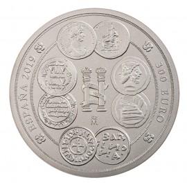 Unidades monetarias de España: 1 Kilo de plata 2019
