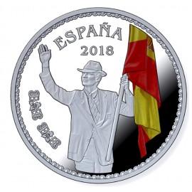 """8 reales """"Abanderado del Equipo Olímpico español en JJ.OO. Barcelona '92"""""""